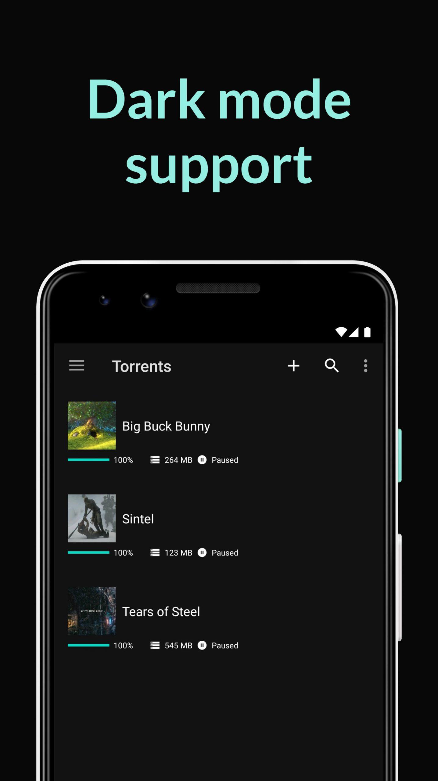 uTorrent- Torrent Downloader for android